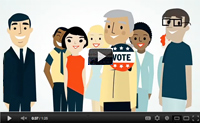 Request your absentee ballot video